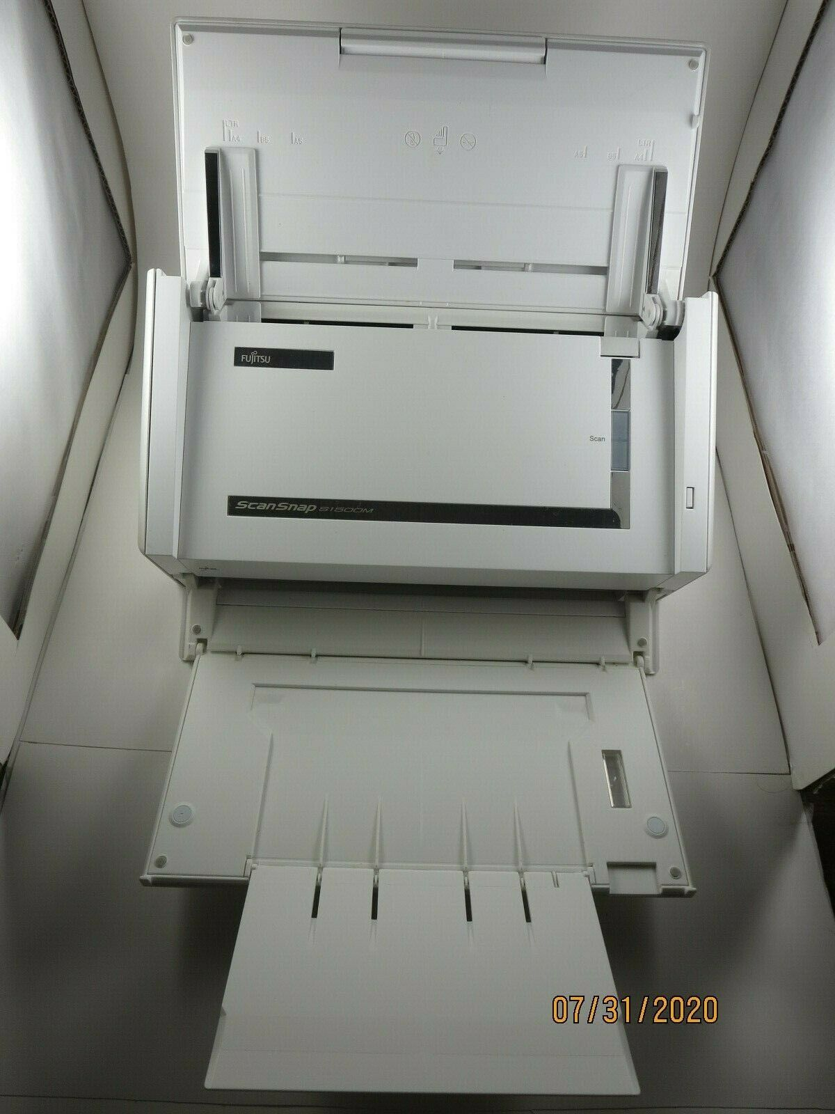 Fujitsu ScanSnap S1500M Document Scanner Fully Tested - $52.00
