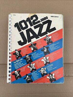1984 Edition 1012 Jumbo JAZZ Album ~ Chords, Guitar Charts & Organ - Jazz Chords Chart