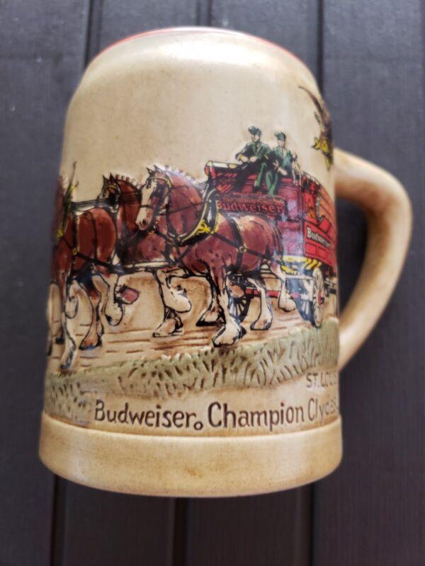 Vintage BUDWEISER BEER STEIN