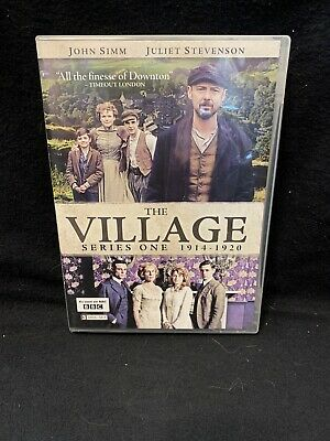 BBC The Village Series One 1914-1920 DVD 3 Disc Box Set Used