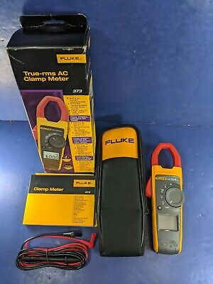 Brand New Fluke 373 Trms Clamp Meter Original Box