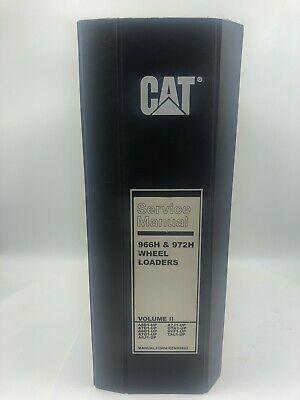 Cat Caterpillar 966h 972h Wheel Loader Service Manual Volume Ii Free Shipping