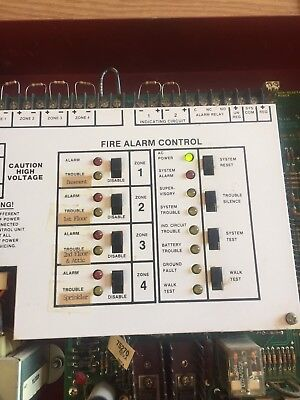 Fire-lite Miniscan Ms-4024 Fire Alarm Control Panel