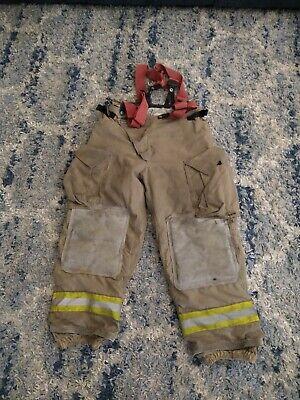 Globe Firefighters Pants Trouser Turnout Bunker Gear Fireman Size 36x28