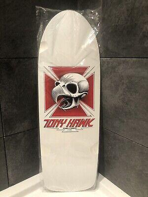 Powell Peralta skateboard deck Tony hawk Bones Brigade series 1 Deck White Retro