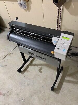 24 Roland Gs-24 Vinyl Cutter Cutting Plotter Camm-1 Professional Stand
