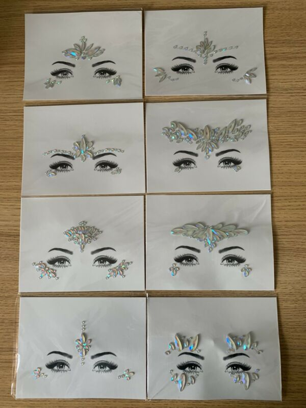 Noctilucent+Face+Gems+8+Pack