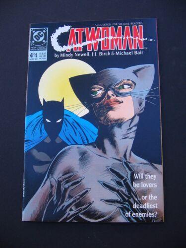 CatWoman #4 VF/NM 1989  High Grade DC Comic Book
