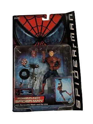 MARVEL TOYBIZ POWER PUNCH SPIDER-MAN Series 3 Action Figure 2002