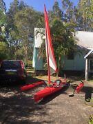 Hobie kayak.  Elizabeth Beach Great Lakes Area Preview