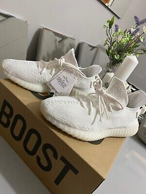 New Adidas YEEZY boost 350 v2 White, UK 10.5 Comes With Receipt 100% Authentic.