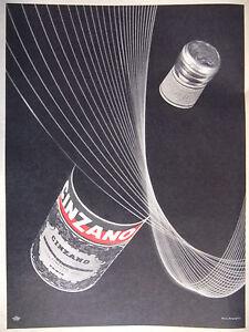 """PUBLICITÉ 1957 CINZANO - PHOTO BERGUGLIAN - ADVERTISING - France - État : Occasion : Objet ayant été utilisé. Consulter la description du vendeur pour avoir plus de détails sur les éventuelles imperfections. Commentaires du vendeur : """"PUBLICITÉ ADVERTISING PAPER"""" - France"""