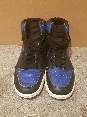 OG 1985 Nike Air Jordan 1 Royal Size 9.5 Original Wings Basketball Sneakers