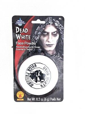 Rubies Dead White Face Powder Compact (Dead White Face Powder)