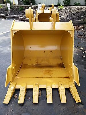 New 54 Heavy Duty Excavator Bucket For A Caterpillar 320 With Coupler Pins