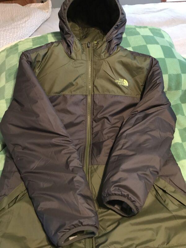 NORTH FACE JACKET COAT WARM WINTER EUC SIZE XL 18/20 VERY NICE COAT REVERSIBLE