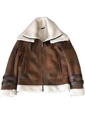 Zara Mens Avaitor Jacket Size M