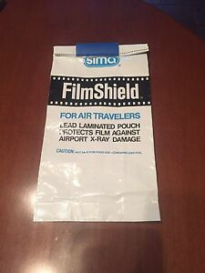 Film Shield X-Ray Protective Pouch