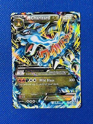 Mega M Charizard EX 69/106 Holo Foil Ultra Rare XY Flashfire Pokemon - Near Mint