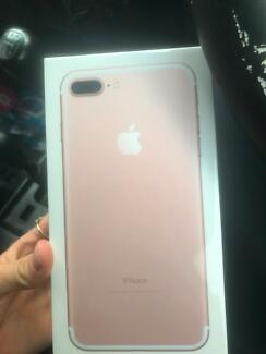 iPhone 7 plus rose gold 256 gb