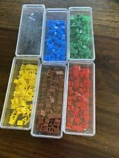 1980 RISK Game 6 Color Roman Numeral Armies Replacement ...