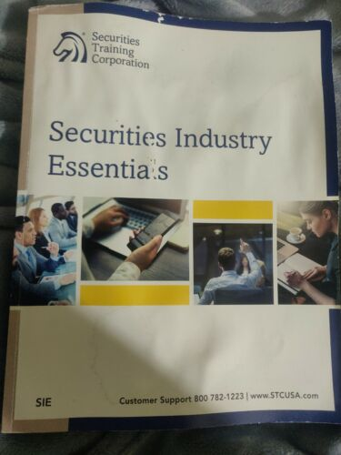 Securities Industry Essentials Examination Course, Paperback By Securities... - $4.99