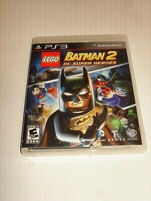 LEGO BATMAN 2 DC SUPER HEROES PS 3 PLAYSTATION 3 COMPLETE