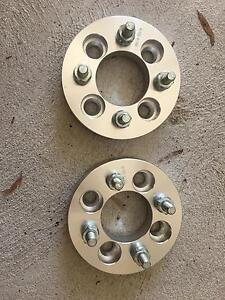 4x100 25mm wheel spacer Cloverdale Belmont Area Preview