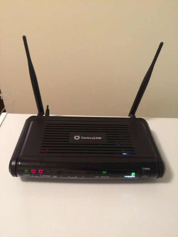 CenturyLink Actiontec C1900A Modem 802.11n Router High Speed, Tested Working