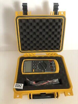Fluke 87-v Industrial True Rms Digital Multimeter With New Weatherproof Case