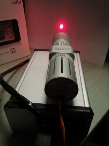 BSR Blue Sky Research Red Diode Laser Cls 3B active cooling Peak power 500mw