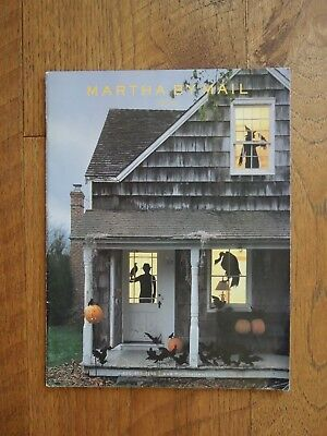 Martha Stewart By Mail Halloween Fall of 2002 Catalog Crafts Dishes Decorations - Halloween Catalogue