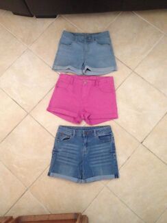 Girls denim shorts size 14 Terrigal Gosford Area Preview