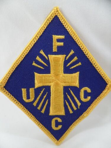 Knights Of Peter Claver Freemason African American Fraternal FUCC Vintage Patch