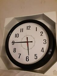 Hearth and Hand with Magnolia Vintage Wall Clock 20 inch Black Finish