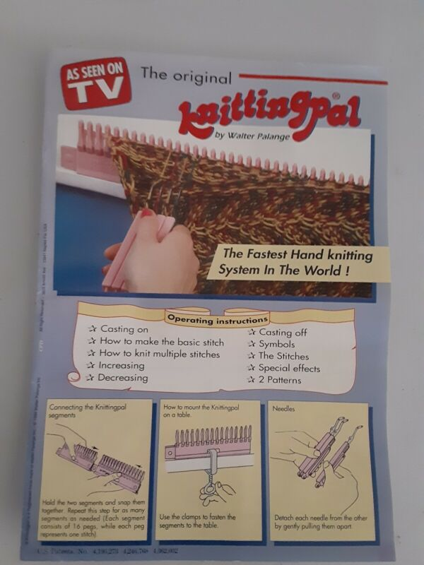 The Origional Knitting Pal NEW As Seen On TV