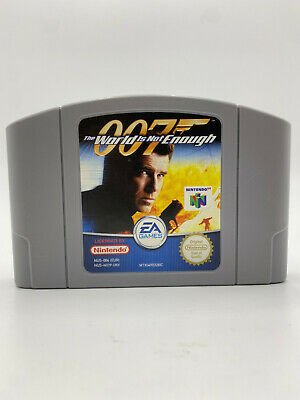 007: The World is Not Enough (Nintendo 64) PAL N64 Fast Shipping