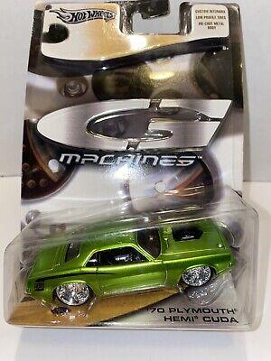 2005 Hot wheels G Machines 1970 '70 Plymouth Hemi Cuda Lime Green barracuda rare