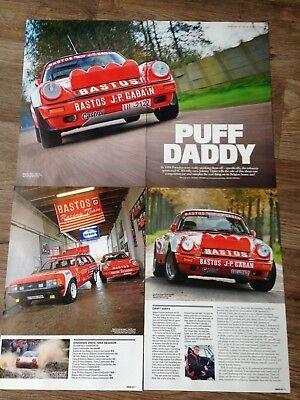 PORSCHE 911 SC RS Rally Car - Classic Test Article