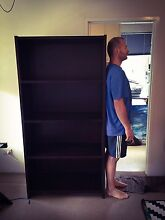 NICK SCALI Timber Bookshelf/Storage unit -Solid dark wood (HEAVY) Lane Cove Lane Cove Area Preview