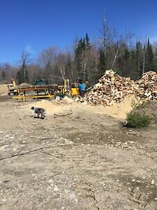 Parry Sound firewood and  bagged camp firewood