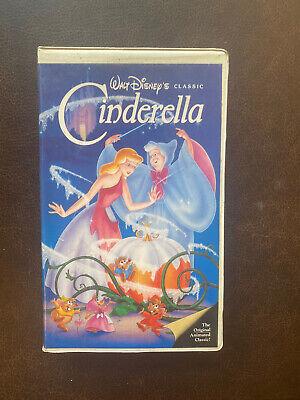 Cinderella VHS Black Diamond Edition