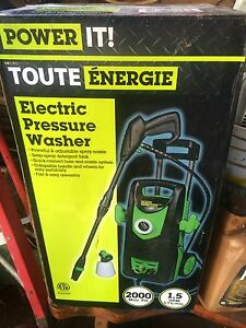 2000 psi pressure washer