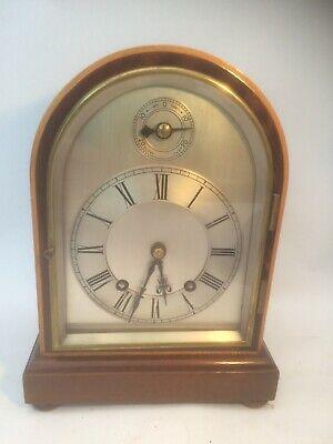 Mahogany W&H Bracket clock 1/4 chiming