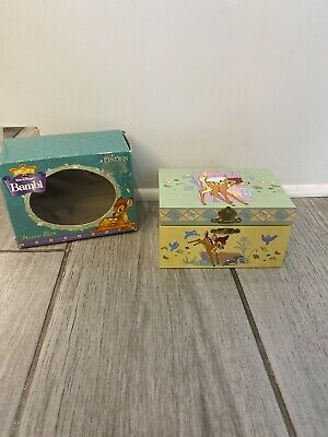 Vintage Kreisler BAMBI Jewelry Trinket Music Box