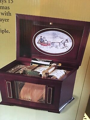 Gold Label Collection MUSIC IN MOTION Music Box Mr. Christmas 15 Songs Gift NIB ()