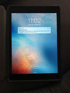 Ipad air 64 gig wifi+lte with case