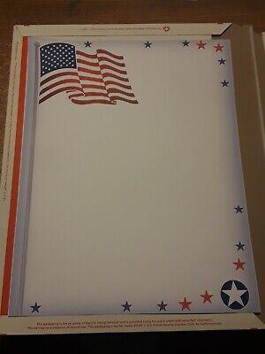 American Flag Stationery - 8.5 x 11 Letterhead 70# Paper ()