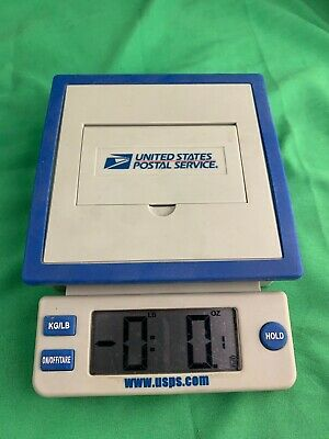 Usps Postal Service 10 Lb Pound Digital Shipping Scale Tested And Works