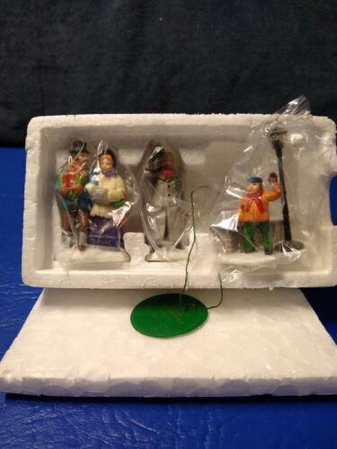 "Dept 56 Heritage Village Accessories""A CHRISTMAS CAROL MORNING "" #55883🎅NIB"